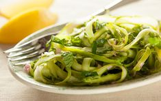 Spring Forward:  New Ways with Favorite Veggies from Whole Foods Lemony Asparagus Salad