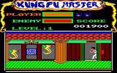 Kung-fu master # amstrad cpc 6128