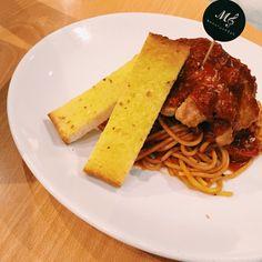 Fav red sauce pasta!! #menuscript