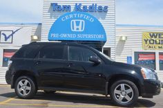 Used 2009 Chevrolet Equinox LT SUV For Sale at Tom Kadlec Honda located at 4444 Hwy 52 North in Rochester MN (507) 281-2500