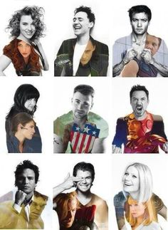 The avengers..but loki a.k.a Tom Hiddleston. My that smile. Those lips yummy!