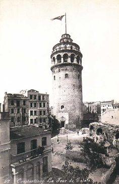 Galata Tower, İstanbul / 1925