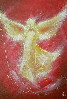 "Limited angel art photo ""angel"" , modern angel painting, artwork, digital picture of the original work"