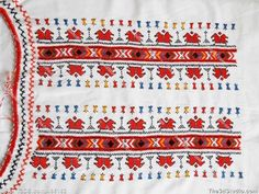 Bulgarian national embroidery Stock Photo Stock Image Clipart Vector