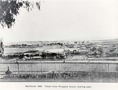 Darebin Heritage: View east over Northcote from Prospect Grove