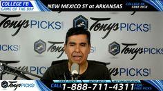 New Mexico St Aggies vs. Arkansas Razorbacks Free NCAA Football Picks an...