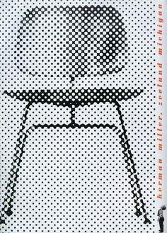 Afbeeldingsresultaat voor HERMAN MILLER DESIGN POSTER