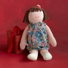 Celeste Doll: A cute and friendly pal! Handmade by local artisans in Peru. Made of 100% cotton exterior with polyester fill. $78 by angeline