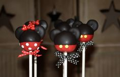 These cake balls  from @mom's killer cakes are sooo adorable.  I think they would be the perfect accent to a MMC party!!!
