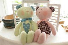 Bamse & Kanin, Tilda materialsats, http://tygodamm.blogspot.com