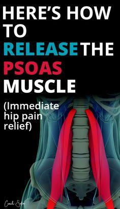 Glute Strengthening, Hip Flexor Exercises, Back Pain Exercises, Hip Massage, Self Massage, Bursitis Hip, Hip Flexors, Hip Pain Relief, Muscle Pain Relief