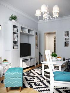 Уютный интерьер квартиры в скандинавском стиле фото 05