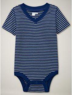 V-neck infant onesie. Emergent church baby!
