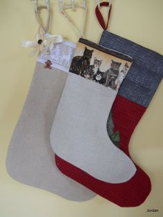 Pet Christmas Stockings Christmas Stockings by ComfyCosyCrafts
