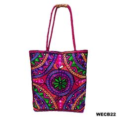 Women Ethnic Handbags Woolen Suzani Embroidery Shoulder Bag Handmade Ethnic Bag ** Check this awesome product by going to the link at the image.