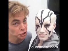 Star Trek Beyond : Dubsmash ++ - YouTube. A totally badass video put together by the cast of the new Star Trek movies. How can you not like this! They are having so much fun with each other.