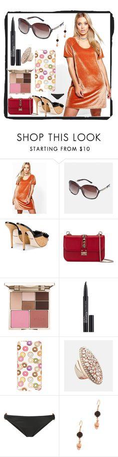 """modalist cashback offer"" by justinallison ❤ liked on Polyvore featuring Boohoo, Avenue, Dolce&Gabbana, Valentino, Stila, Smashbox, Milkyway, Malia Mills and Joomi Lim"