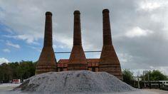 Limekilns with pile of shells