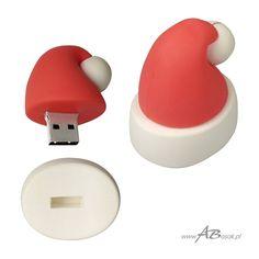 pendrive czapka mikołaja z Twoim logo