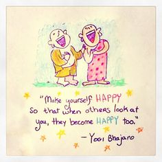 *Today's Buddha Doodle* - How to Make Others Happy...