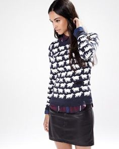 Counting sheep crew-neck sweater - RW&CO. Fall 2014