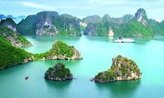 Ha long bay in Vietnam. We hope to take three weeks and travel Vietnam, Thailand and Cambodia in the near future. Places Around The World, Oh The Places You'll Go, Places To Travel, Places To Visit, Around The Worlds, Angkor, Laos, Vietnam Tours, Vietnam Travel