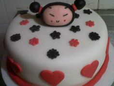 My first pucca cake!!!! I love this sweet little doll...