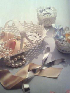 DIY:  lace bowl