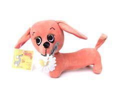 Vintage 1966 KAMAR Dachshund Stuffed Toy Dod Strudel No2775