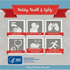 Holiday Safety Tips from the Centers for Disease Control and Prevention (CDC)
