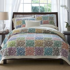 Deco Scallop Reversible Duvet Cover Set | Duvet, Dorm and College : the company store quilts - Adamdwight.com