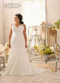 fc9f6a3a18a Flatter your curves with the gorgeous new Mori Lee Julietta collection.  Second Wedding DressesPlus Size ...