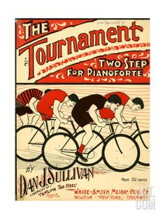 "Sheet Music Covers: ""The Tournament"" Composed by Dan J. Sullivan, 1899 Giclee Print at Art.com"