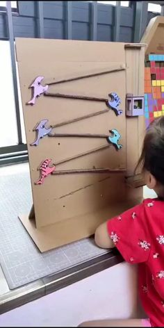 #DIY Diy Crafts For Kids Easy, Diy Crafts Hacks, Diy Home Crafts, Fun Crafts, Toddler Learning Activities, Craft Activities For Kids, Infant Activities, Preschool Activities, Diy Toys