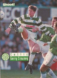 Gerry Creaney of Celtic in Celtic Pride, Celtic Fc, Baseball Cards, Sports, Hs Sports, Sport