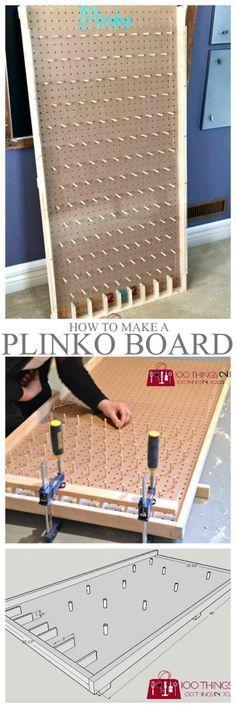 How to make a Plinko board                                                                                                                                                      More