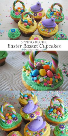 Easter always brings back so many special memories, especially memories of the Easter baskets my Grandma would hide around the yard for all her grandkids. If you're on the hunt for a fun, kid friendly, spring recipe or looking for Easter ideas, Easter Bas