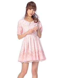 My Melody & Liz Lisa Collab Dress in Pink ♡