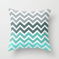 #designlibrary - Society6 - Tiffany fade chevron