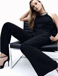 The High Street Edit  Publication: Elle UK December 2014 Model: Egle Jezepcikaite Photographer: Jens Langkjaer Fashion Editor: Siobhan Lyons Hair: Tony Collins Make-up: Naoko Scintu