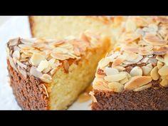 Tarta de ricotta y almendras. Sin harina. Sin gluten. Receta fácil. Sweet Recipes, Cake Recipes, Cheesecake, Food Journal, Baking Cupcakes, Mocca, Healthy Sweets, Sin Gluten, Gluten Free