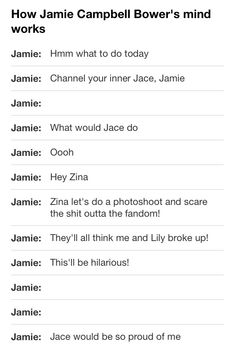 Haha this is so funny via ClubFandemonium Tumblr and Twitter. I love this :) This is regarding a photo released of Jamie Campbell Bower and his friend Zina. There were crazy rumors that he was no longer with Lily Collins.