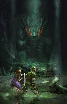 """""""Zelda"""" by Daniel Hayman"""