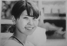 lukis wajah orang jepang dengan pensil