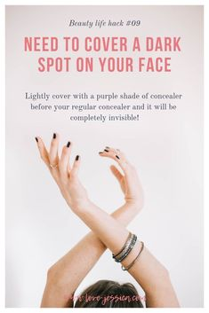 Lightly covering dark spots with a lavender to purple shade of concealer before … - Vida Saudável Intuition, New Business Names, Business Tips, Tips Instagram, Ig Bio, Gel Manicure At Home, Nail Designer, Cuticle Oil, Hand Care