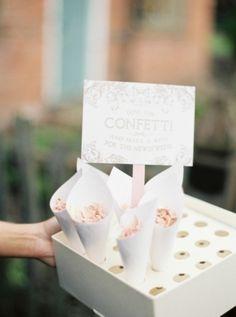 Confetti Shower Send-Off