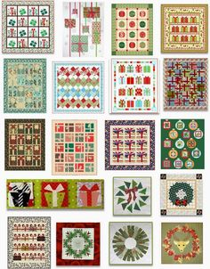 Here we go with another Free Pattern Day for the holidays !  Today we're focused on free patterns and tutorials for quilted Christmas wreath...