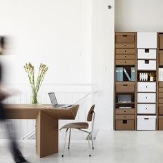 AWE. SOME! Cardboard furniture that I could see actually using and not hating.  And the decorating possibilities!