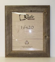 16x20 Reclaimed Wood Extra Wide Frame