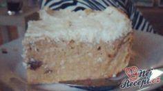 Jablečník bez mouky Vanilla Cake, Sweet Recipes, Pizza, Sweets, Cooking, Healthy, Diabetes, Fitness, Kitchen